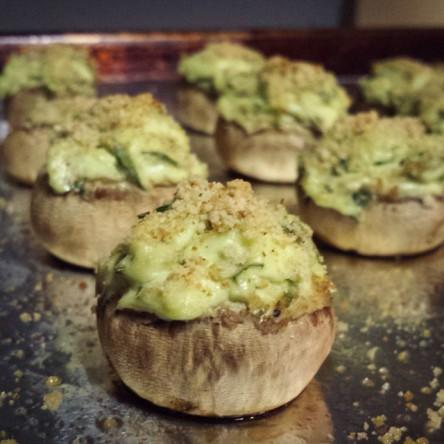 easy-stuffed-mushrooms